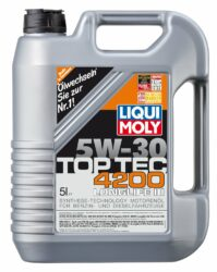 Liqui Moly Top Tec 4200 5 W-30 im Test